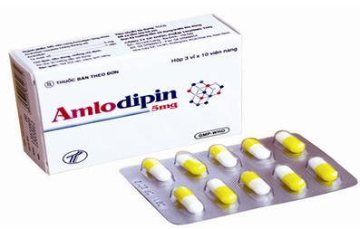 Thận trọng khi dùng thuốc hạ huyết áp amlodipin